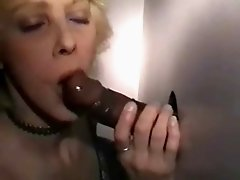 Wife Mary's Gloryhole Goo Day