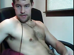 Hairy Show Off Masturbating