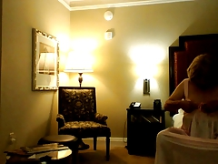 Alone in hotel