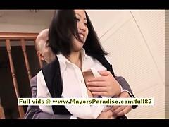 Akiho Yoshizawa Chinese girl has lovely tits