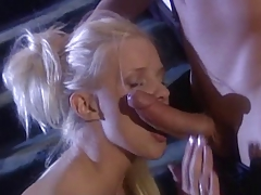 British Slut Hannah Harper fucked on the stairs