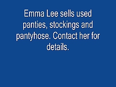 Transvestite Emma lee upskirt pantyhose