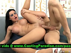 Aletta Ocean lovely brunette gets fucked
