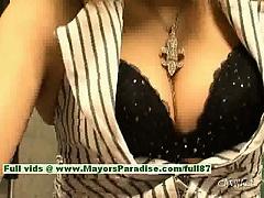 Rui Shiina innocent chinese girl gets nipples licked and posing