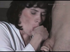 Sexy brunette milf amateur mature wife interracial cuckold cumdrinking