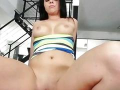 Phat butt gf Madelyn Monroe anal try out