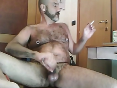 Smoking and cumming