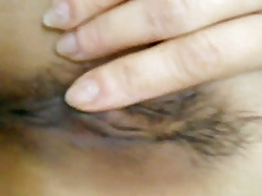 Taiwanese girl in love with Shaving