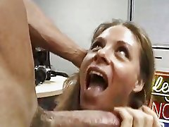 Kim Chambers Giving An Office BJ