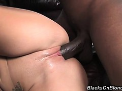 What's not to love...A hot, blonde, black dick slut, aching