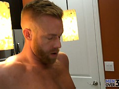 Andrew's hungry but Christopher insists that sex comes first