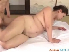 Fat Mature Woman Getting Her Hairy Pussy Fucked