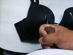 Cum on bra - Wife's Bra