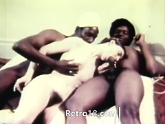 hot retro threesome erotica