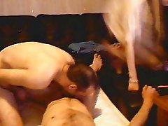 bi sex couple and webcam