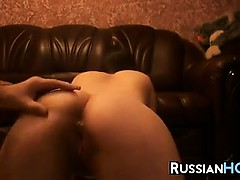 Russian Girlfriend Gets Fucked