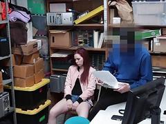 Shoplyfter  Teen Stripped Down & Fucked by Creepy
