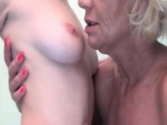 Horny mature lesbian gets horny making part3