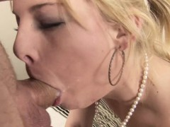 Lustful honey organizes a hard fucking for herself with ease