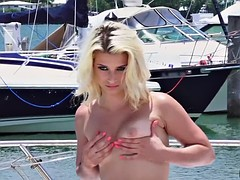 She has a fat dick to slurp up and get fucked hard by
