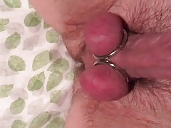 Curved cock with rings