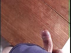Shaking the cum out of my dick