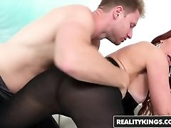 Janet Mason and Levi Money are boning like kinky brutes in front of the camera