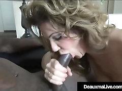 Super-Naughty Milf Deauxma Poked By Monstrous Ebony Repoman Manmeat!