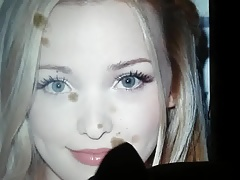 Dove Cameron cum tribute 8
