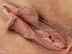 Goldie masturbating with fingers on Give Me Pink
