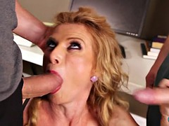 Mature slut c hungry for two loads now