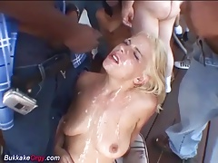 extreme bukkke orgy with hot girls