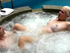 second jacuzzi orgasm with bubbles