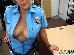 Sexy Police Officer Had A Fat Ass And A Tight Pussy