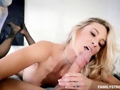 Busty blonde is cheating on her husband