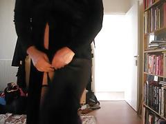 Buttlegs showing her white plump assballs