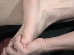 Two sexy fag are getting naked both part1