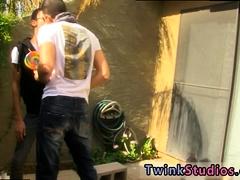Video gay sex big man fuck small boy Dustin Cooper is