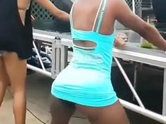 Black maids 3 black diamond drilled into ebony ass