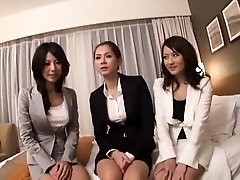 Hot Japanese ladies feed their lust for hardcore sex action