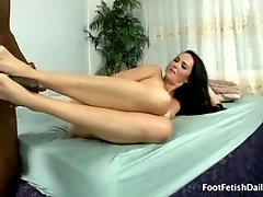 Bianca loves a black cock fucking her tight white pussy