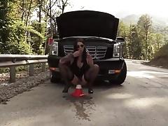 road cone masturbation