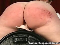 Tit and ass whipping