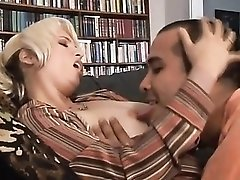 See her pierced clit in doggystyle milf sex video