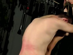 Hot gay Flogged And Face Fucked