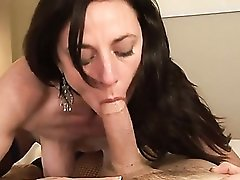 Hotel tryst with a hot milf that loves hard dick