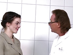 Young German Teen visits the old Cock Doctor