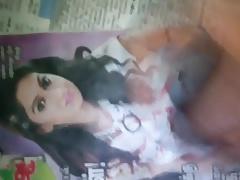 cum on tamil actress