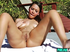Naughty Nadia Noel Plays With Her Cunt