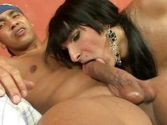 Check out hard banging session with a ladyboy gal